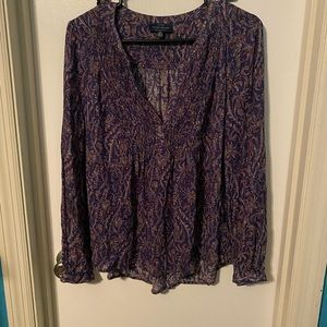Lucky brand long sleeve top